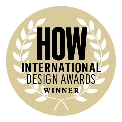 How Design Award Medal/Button